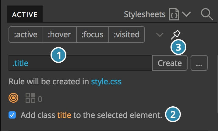 Styling with CSS   Pinegrow Web Editor